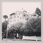 Photo taken at Château Marmont by Trent V. on 6/7/2013
