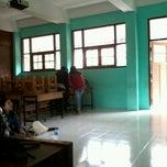Photo taken at SMP Negeri 1 Bandung by Annisa Yuniar H. on 2/22/2014