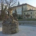 Photo taken at Andělská fontána by Jaroslav P. on 3/8/2015