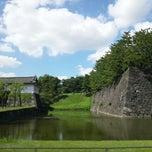 Photo taken at 江戸城 桜田門 (外桜田門) by Mark K. on 10/8/2012