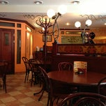 Photo taken at Крепери Де Пари (Creperie De Paris) by Rumyantsev D. on 1/19/2013