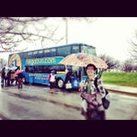 Photo taken at Megabus Stop by Cindy C. on 12/4/2012