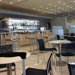 Photo taken at Lufthansa Business Lounge by Frank F. on 10/14/2012