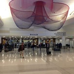 Photo taken at SFO Terminal 2 by David L. on 9/26/2013
