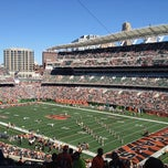 Photo taken at Paul Brown Stadium by Lauren V. on 9/16/2012
