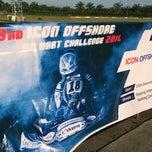 Photo taken at Sepang International Go Kart Track by Hilmi H. on 12/13/2014