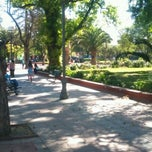 Photo taken at Plaza de Armas de Buin by Esteban E. on 11/2/2012
