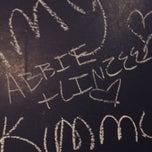 Photo taken at Blackboard Cafe by Abbie P. on 3/22/2015