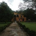 Photo taken at Hacienda Uayamon by Eliza H. on 7/12/2013