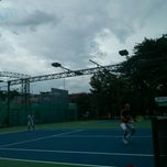 Photo taken at Phú Thọ tennis club by Minh H. on 7/6/2014