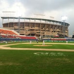 Photo taken at 무등야구장 (Mudeung Baseball Stadium) by WWW .. on 10/1/2013