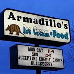 Photo taken at Armadillos Ice Cream Shoppe by Mike C. on 4/28/2013
