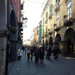 Photo taken at Corso Umberto by Giuseppe C. on 1/3/2013