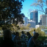 Photo taken at River Cafe by Elliot H. on 10/6/2012