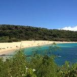 Photo taken at Waimea Bay by Jason 6. on 8/6/2013
