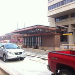 Photo taken at East Bank LRT Station by Jonathan A. on 10/15/2012