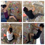 Photo taken at Red Barn Climbing Gym by Tony M. on 8/3/2014