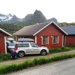 Photo taken at Ørsvågvær Camping by Ruslan U. on 6/5/2014