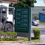 Photo taken at Posto Santa Mônica (BR) by Leandro M. on 2/20/2013