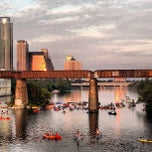 Photo taken at Lady Bird Lake by Greg on 7/5/2013