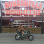Photo taken at Bombshells by Candice P. on 7/10/2013