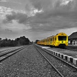 Photo taken at Stasiun Patukan by Wenang E. on 9/30/2014