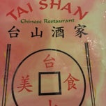 Photo taken at Tai Shan Restaurant by J V. on 3/24/2013