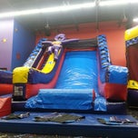 Photo taken at Pump It Up by J V. on 7/1/2014