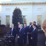 Photo taken at The Oval Office by Jeneba G. on 2/28/2014