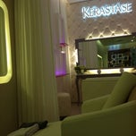 Photo taken at Excellence Beauty & Lounge by Chatalia W. on 2/21/2014