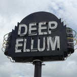 Photo taken at Deep Ellum by  ℋumorous on 10/12/2012