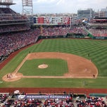 Photo taken at Nationals Park by Cory P. on 7/27/2013