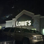 Photo taken at Lowe's Home Improvement by Audrey W. on 11/21/2012