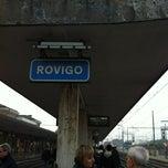 Photo taken at Stazione Rovigo by Luisa C. on 10/18/2012