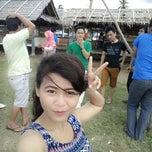 Photo taken at Pantai Pasir Putih (Pasir Putih Beach) by Feni W. on 3/15/2015