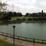 Photo taken at Parco Lago Nord by Davide P. on 4/24/2013