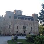 Photo taken at Castello di Valbona by Eugenia M. on 4/24/2014