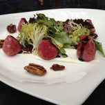 Photo taken at Azure Restaurant & Bar by David F. on 2/19/2013