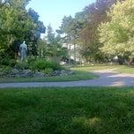 Photo taken at Burggarten by z_bayraktar on 7/24/2013