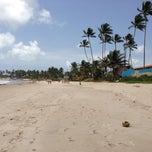 Photo taken at Praia do Borete by Antonio Sérgio d. on 9/1/2013