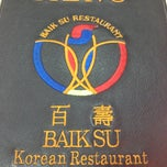 Photo taken at Baik Su Korean Restaurant by Lanvin L. on 11/3/2012