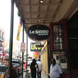 Photo taken at Le Bayou Restaurant by Kelly L. on 11/5/2012