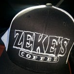 Photo taken at Zeke's Coffee (retail) by Dark K. on 2/14/2013