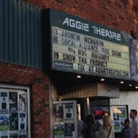 Photo taken at Aggie Theatre by Chris R. on 7/14/2014