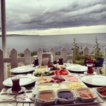 Photo taken at Çapari Bahçe Cafe by Pelin Ş. on 7/1/2013