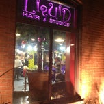Photo taken at Liquid Hair Studios by Kevin V. on 12/21/2012