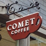 Photo taken at Comet Coffee by Joan H. on 7/2/2013
