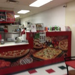 Photo taken at Papa John's Pizza by Desmond W. on 1/6/2013