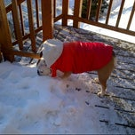 Photo taken at Slide Brook Lodge And Tavern by al a. on 2/18/2013