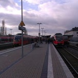 Photo taken at Bahnhof Euskirchen by Attila N. on 12/14/2013